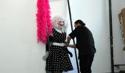 "Fioravanti - Working on the art film ""The pink line"""